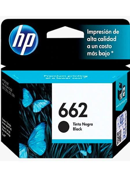 Tinta 662 Black HP CZ103AL