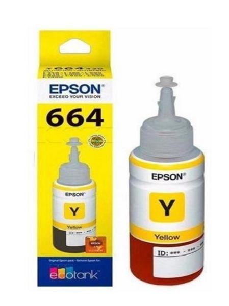 Botella de tinta Amarilla T664420-AL