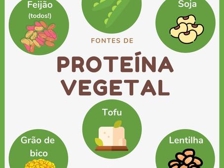 Proteínas vegetais – onde encontrar