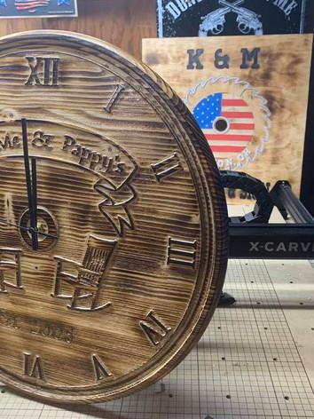 Custom wooden clock.jpg