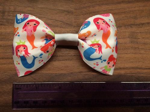 Cheeki Chops handmade Mermaids bow.