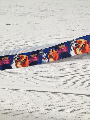 Beauty and the beast lanyard