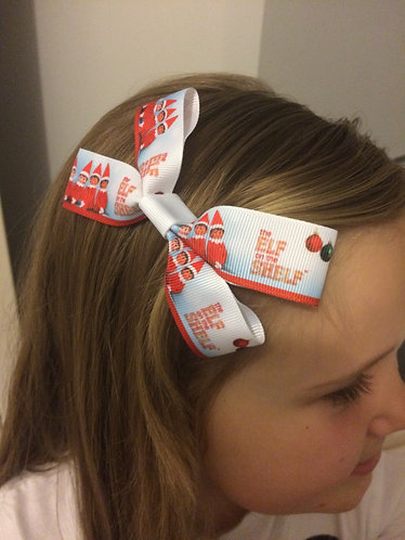 Elf on the shelf inspired double bow
