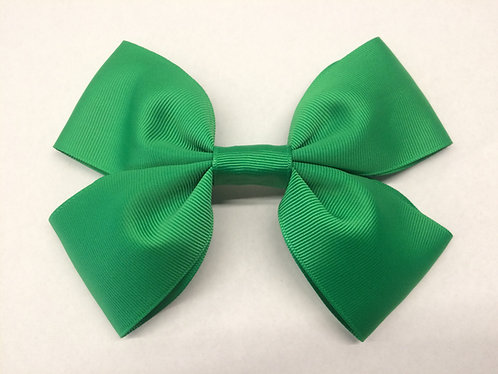 Girls hair bows-Green-Cheeki chops handmade baby accessories