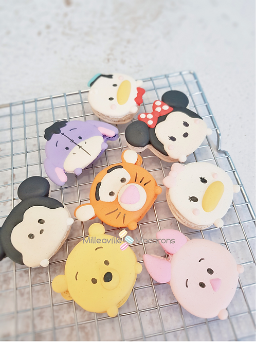 Tsum Tsum Macarons Set