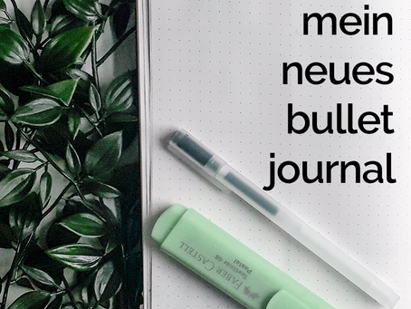 Ein Blick in mein neues Bullet Journal | Getting my shit together