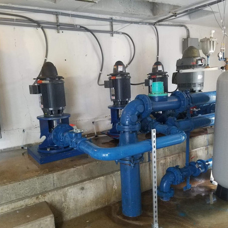 water system replacements