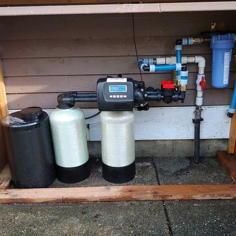 Water softener, water filtration