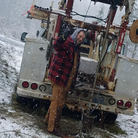 winter work - well pump replacements