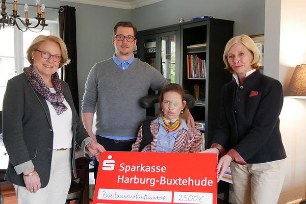 Spende-Frauke-Ilse-Jörg-Büttinhaus-Silke-Büttinghaus-Barbara-Plötner-Raulf