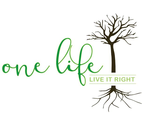 One Life logo - Nicole Collie