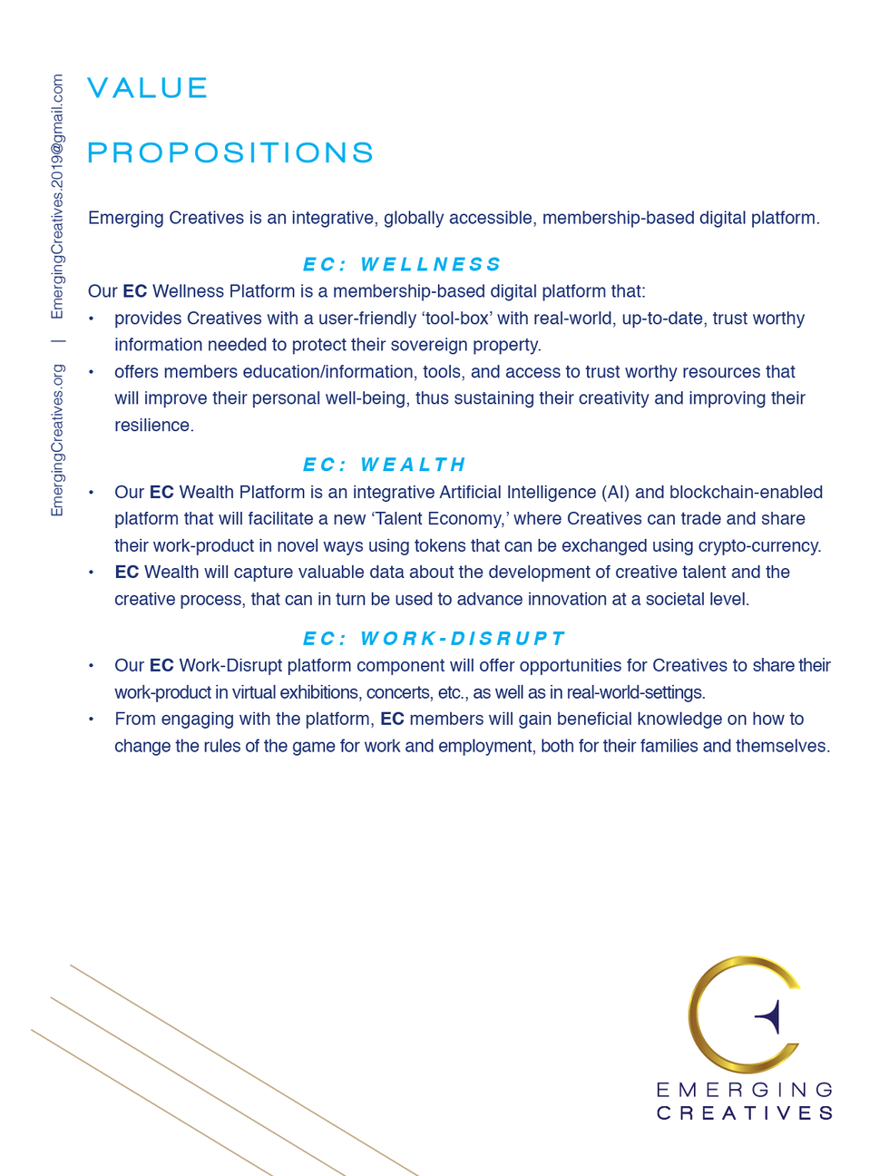 Emerging Creatives Sponsorship Value Pro