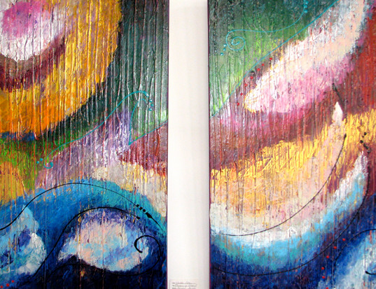 Oceans of Color I & II - Nicole Collie