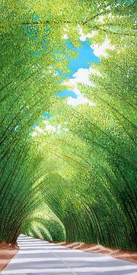 Clifford Fernander ~ Bamboo Street