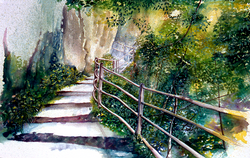 Swiss Mountain Steps