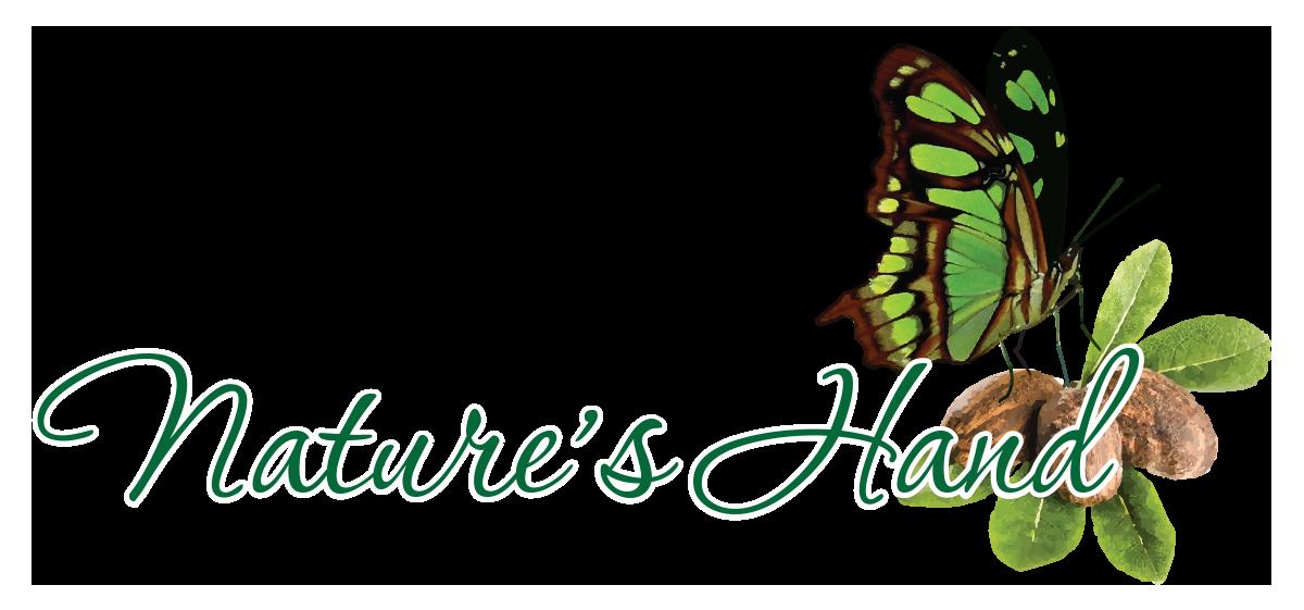 Nature's Hand logo - Nicole Collie