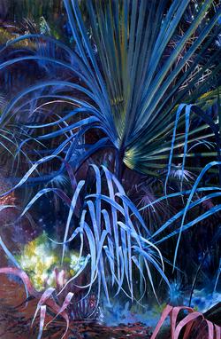 Electric Blue  Palms