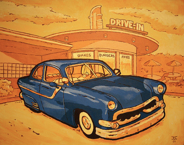Dad's Old Ford