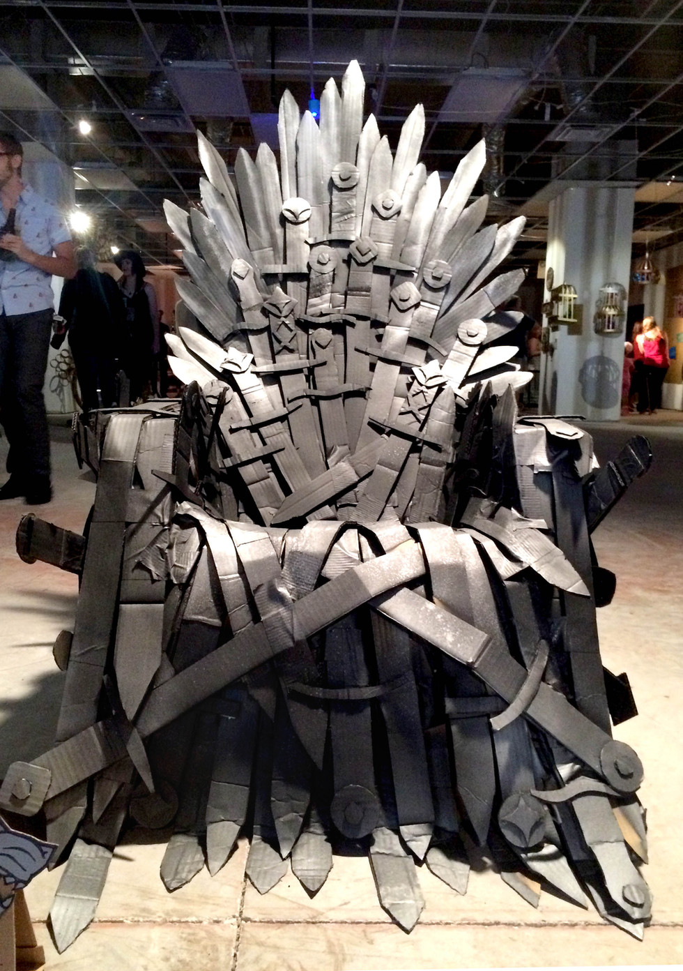 The Cardboard Throne