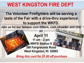 "West Kingston ""Taste of the Fair"" Event"