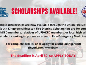 Six Scholarships worth $10,000 available