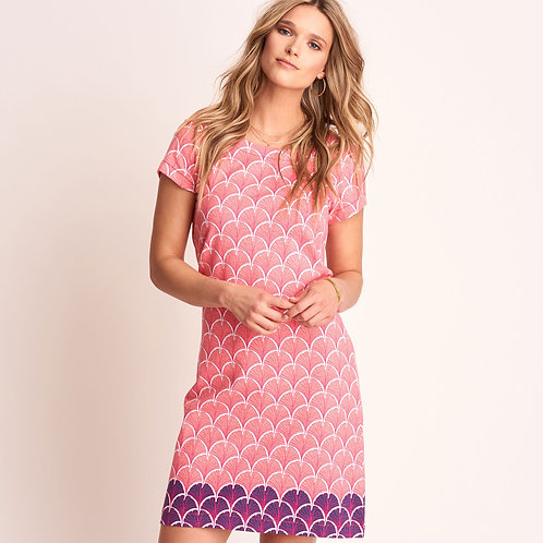 Hatley Nellie Dress Coral Fans