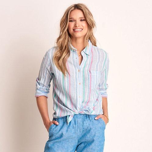 Hatley Cindy Shirt Coastal Stripes