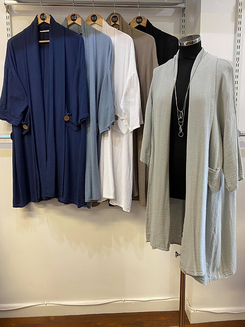 Cotton/Linen Cardigan