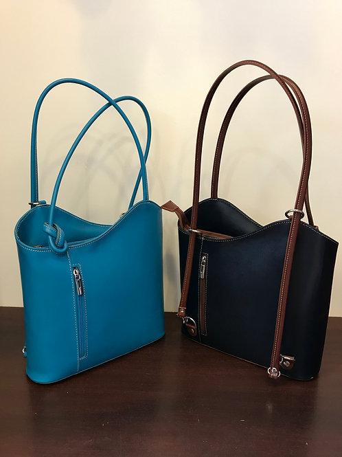 Leather Shoulder Bag & Backpack