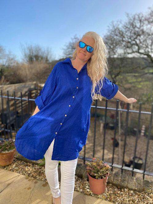 Chic Linen Shirt
