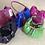 Thumbnail: Reversible Suede Handbag