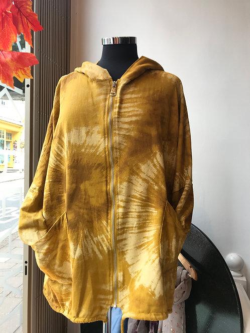 Tie Dye Hooded Jacket