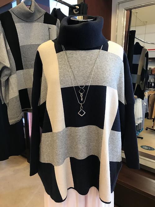 Boxy Abstract Knit