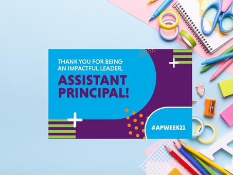 BCSD Celebrates National Assistant Principals Week
