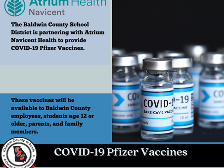 COVID-19 Pfizer Vaccine Available for Students Age 12 or Older at the Back-to-School Bash