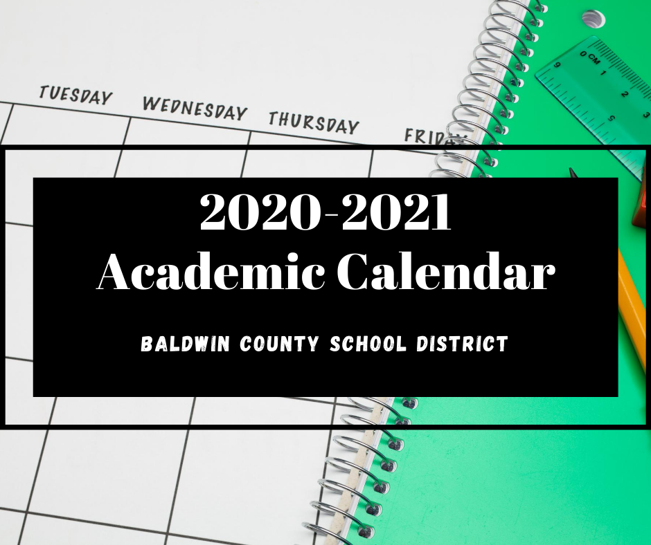 Revised 2020 2021 Academic Calendar Now Available