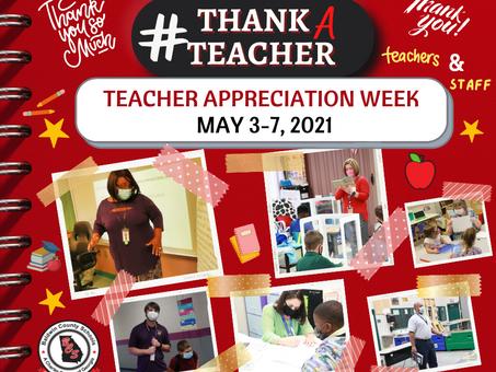 BCSD Celebrates National Teacher Appreciation Week
