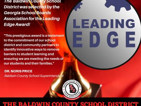 Baldwin County School District Wins Leading Edge Award