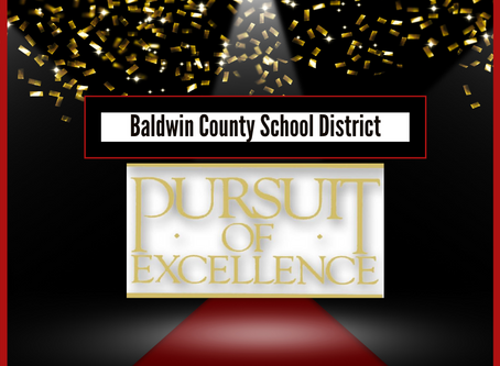 BCSD September's Pursuit of Excellence Winners