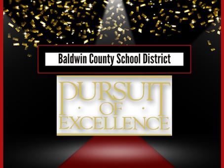 BCSD December's Pursuit of Excellence Winners