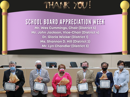 March Board Recognitions