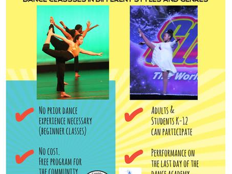 Summer Dance Academy Starts June 7th