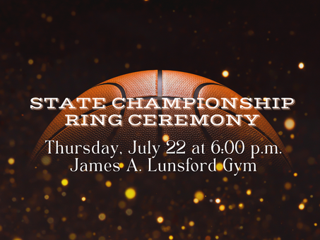 Baldwin High School to Hold State Championship Ring Celebration
