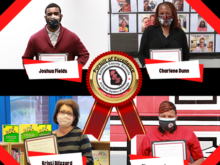 BCSD March's Pursuit of Excellence Winners