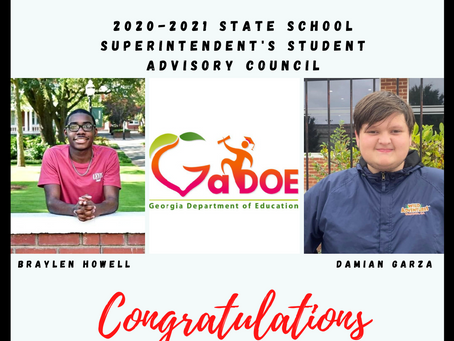 Baldwin Students Selected for State School Superintendent's Student Advisory Council