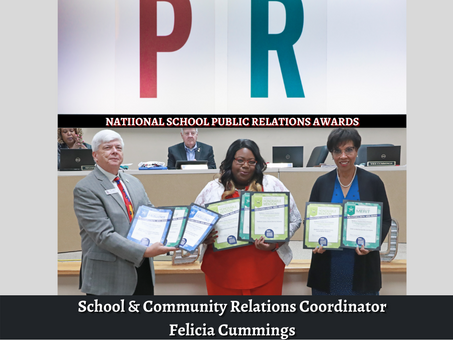 BCSD Earns National Recognition for Public Relations Work