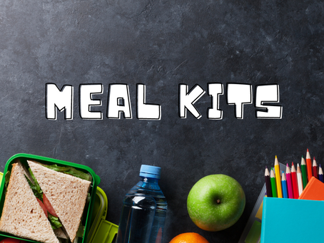 Meal Kits Distributed Today for Remote Learning