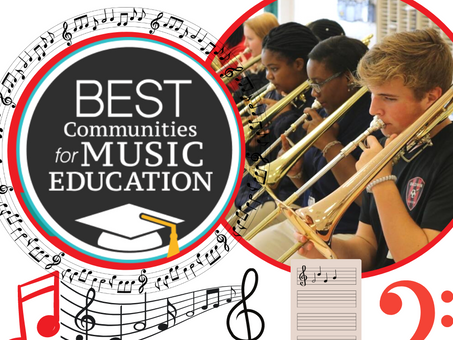BCSD Named a Best Community for Music Education for a Sixth Year in a Row