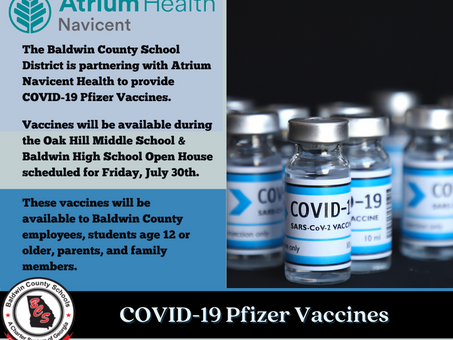 Pfizer COVID-19 Vaccines Available During Open House on Friday