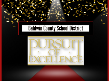 BCSD February's Pursuit of Excellence Winners